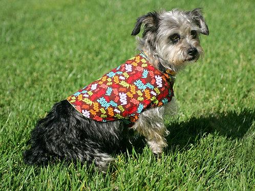 Woof Reversible Dog Vest