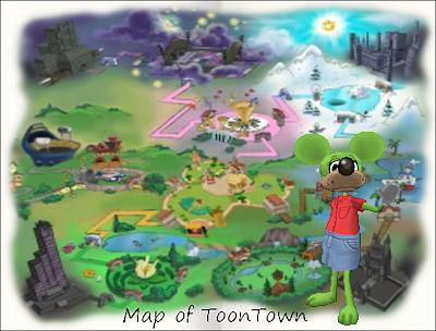 ToonTown Map