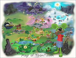 ToonTown Map