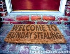 Sunday Stealing - Thanksgiving Dinner and WEIGHTLOSS
