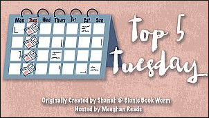 Top 5 Tuesday - Creepy Characters