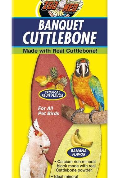 Zoo Med Bird Banquet Cuttlebone Large 2pk