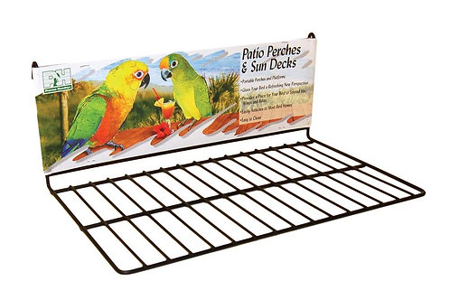 Prevue Pet Products Wire Patio Sundeck Black Large