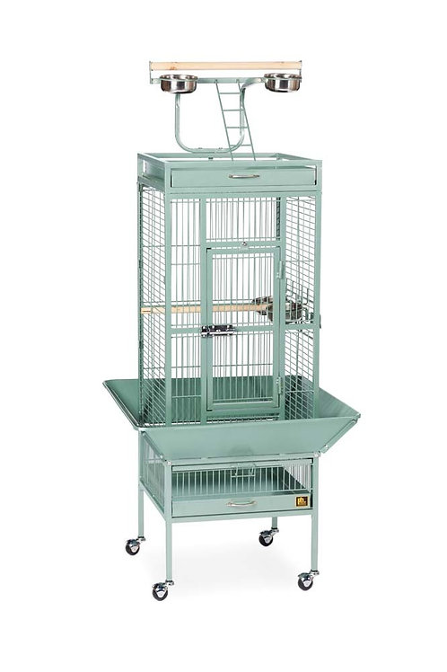 Prevue Pet Products Wrought Iron Select Cage Sage 18x18x57in