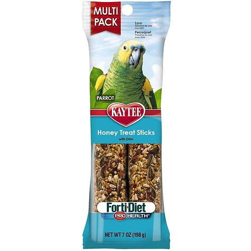 Kaytee Forti-Diet Pro Health Parrot Honey Stick Value 7oz