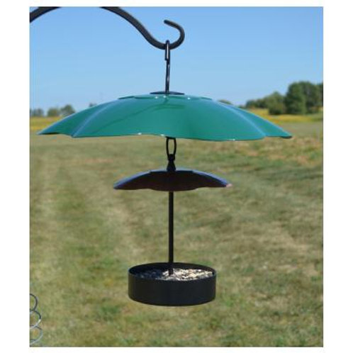 Green 16 inch Weather Block Baffle