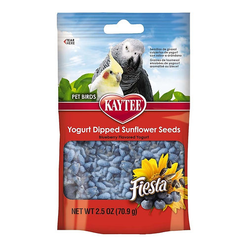 Kaytee Fiesta Yogurt Dips Avian Sunflower/Blueberry 2.5oz