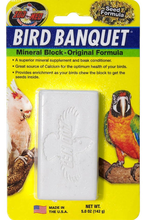 Zoo Med Bird Banquet Block Original Seed Formula Large