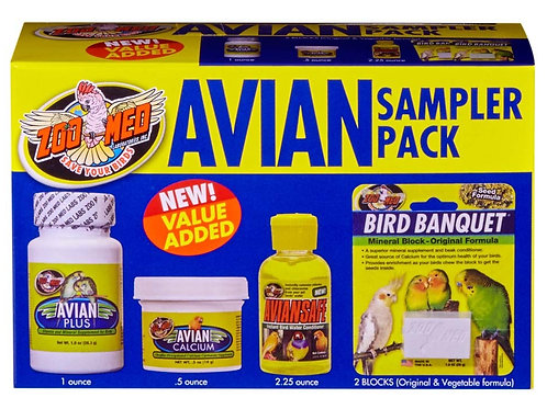 Zoo Med Avian Sampler Pack