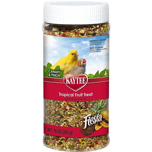 Kaytee Fiesta Canary/Finch Tropical Fruit 10oz Jar