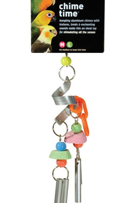 Prevue Pet Products Chime Time Cyclone Bird Toy