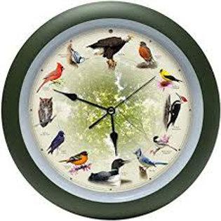 20th Anniversary 13 inch Bird Clock