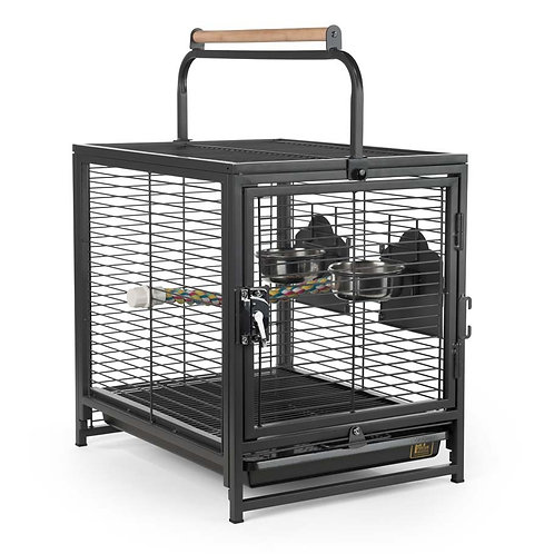 Prevue Wrought Iron Travel Bird Cage 18x14.25x14