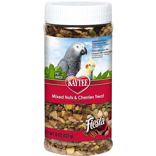 Kaytee Fiesta Mixed Nut Cherry Avian Jar 8oz