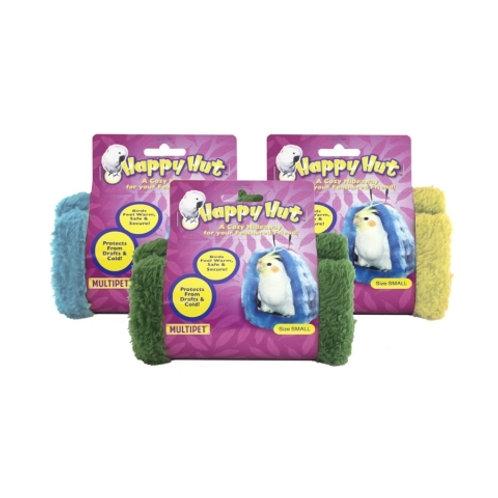 Multipet Happy Hut Assorted 6.5in
