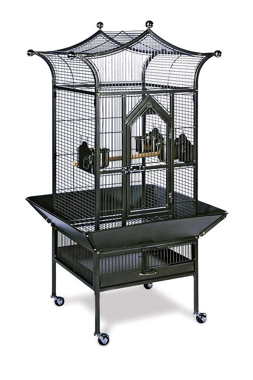 Prevue Pet Products Royalty Cage Black 20x20x56in