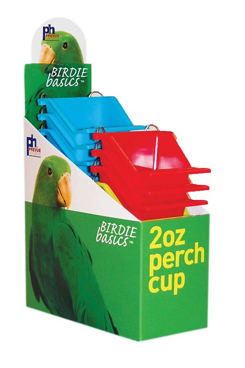 Prevue Pet Products Perch Cup 12ea/2oz