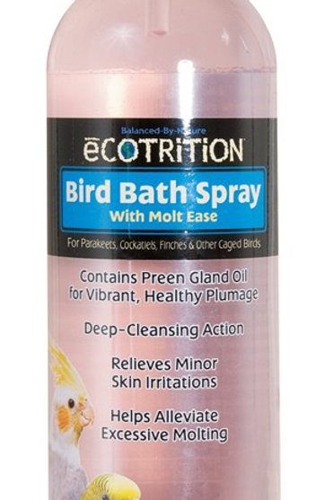 8 in 1 Ecotrition Bird Bath Spray 8oz