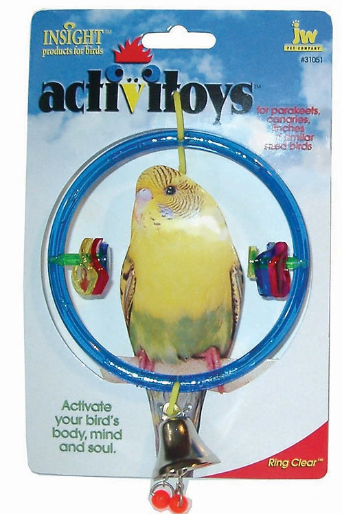 JW Pet Activitoy Ring Clear