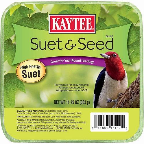 Kaytee Suet & Seed 11.75oz