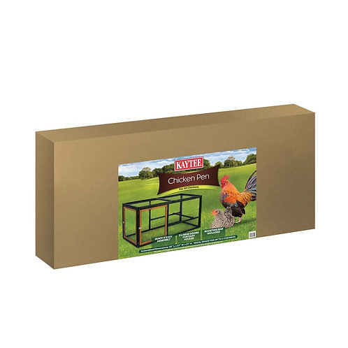 Kaytee Chicken Pen for All Chickens Ideal for 2 Chickens 55X27X27