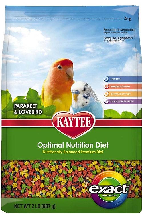Kaytee Exact Parakeet/Lovebird Rainbow 2lb