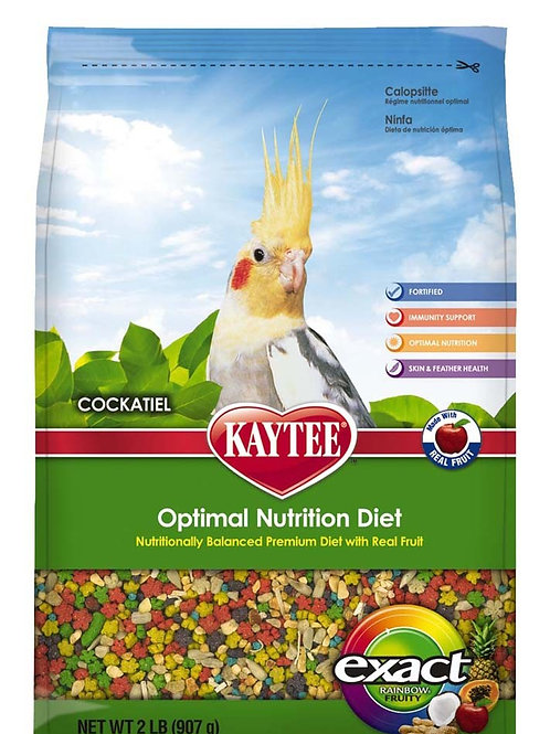 Kaytee Exact Cockatiel Fruity Rainbow 2lb