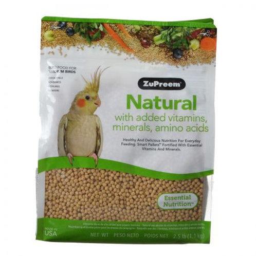 ZuPreem Natural Blend Bird Food - Cockatiel  3lb
