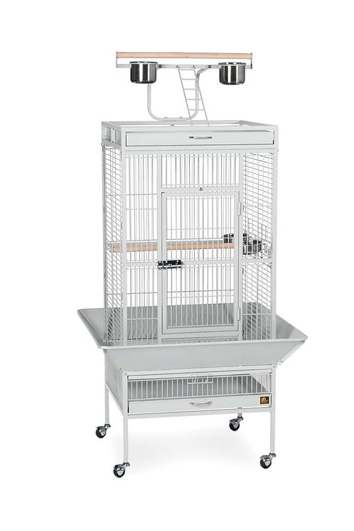 Prevue Pet Products Wrought Iron Select Cage Pewter 24x20x60in
