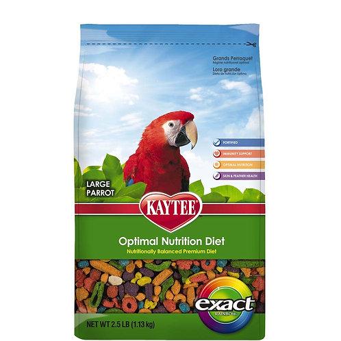 Kaytee Exact Parrot Rainbow Chunky 2.5lb