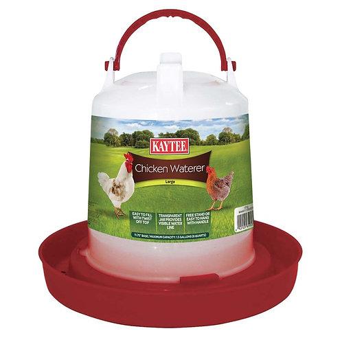 Kaytee Chicken Waterer Large 1.5gal
