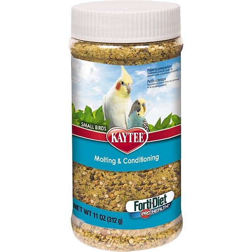 Kaytee Forti-Diet Pro Health Small Bird Molt Cond 11oz Jar