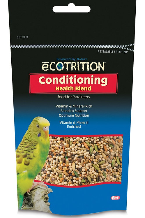8 in 1 Ecotrition Conditioning Health Blend for Parakeets 8oz