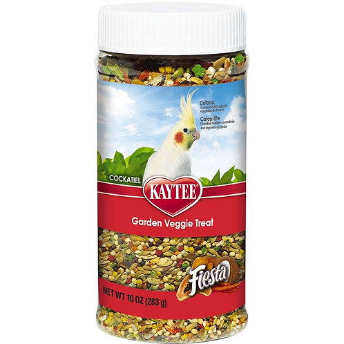 Kaytee Fiesta Cockatiel Garden Veggie Jar 10oz