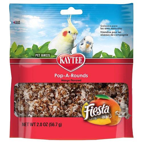 Kaytee Fiesta Pop-A-Rounds Mango Brd 2oz