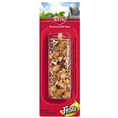 Kaytee Fiesta Large Bird Banana Split Stick 2.25oz