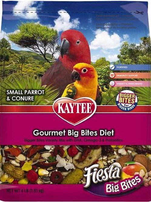 Kaytee Fiesta Big Bites Parrot Treats 4lb