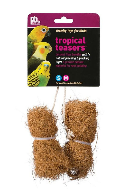 Prevue Pet Products Tropical Teasers Coco Bundles Bird Toy