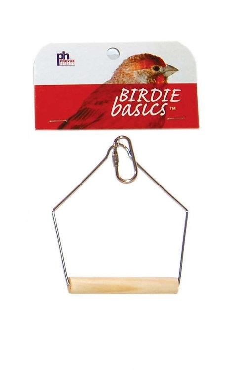 Prevue Pet Products Birdie Basics Wood Swing 3inX4in