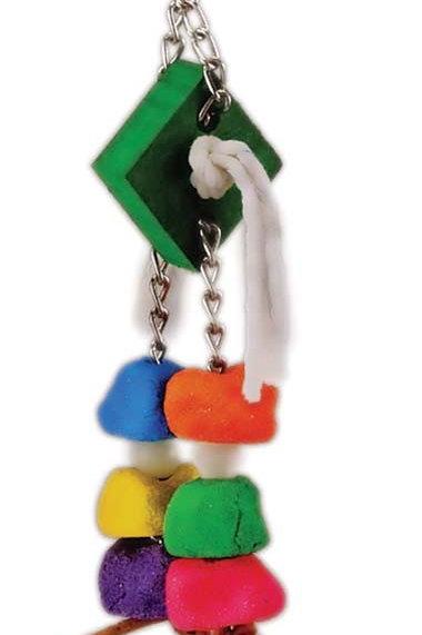 Prevue Pet Products Cosmic Crunch Comet Bird Toy