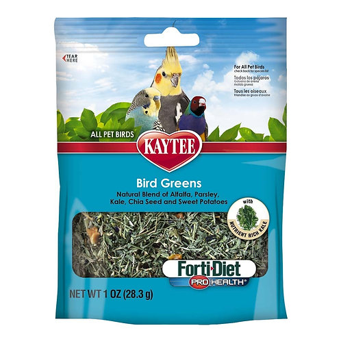 Kaytee Forti Diet Prohealth Bird Greens Chia Sweet Potato 1oz