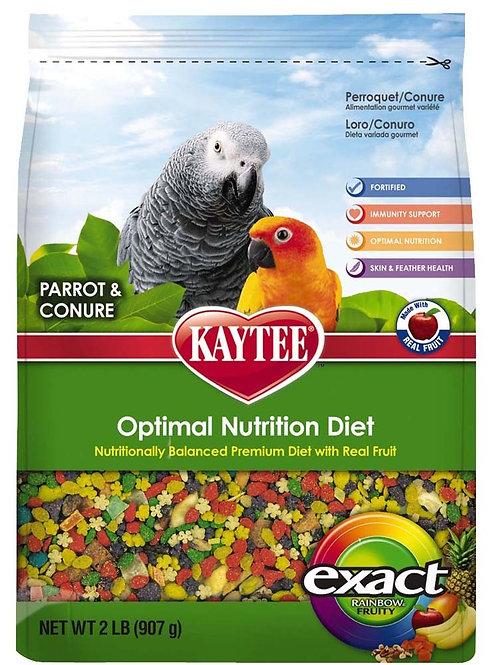 Kaytee Exact Parrot/Con Fruity Rainbow 2lb