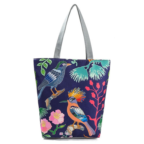 Miyahouse Canvas Shoulder Bag for Women Tote Handbag