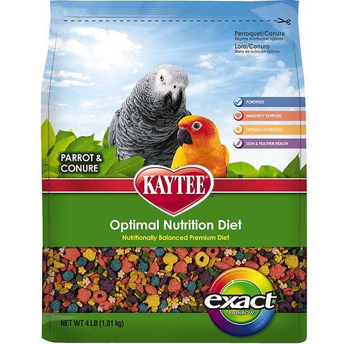 Kaytee Exact Parrot/Conure Rainbow 4lb