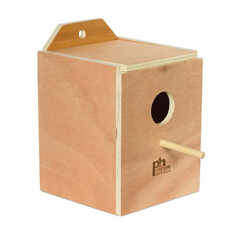 Prevue Pet Products Hardwood Inside Lovebird Nest Box Medium