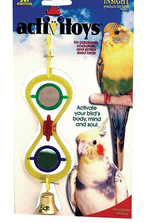 JW Pet Activitoy Hour Glass Mirror