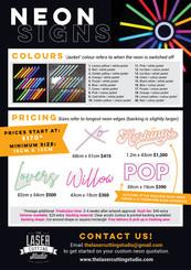 Neon Info