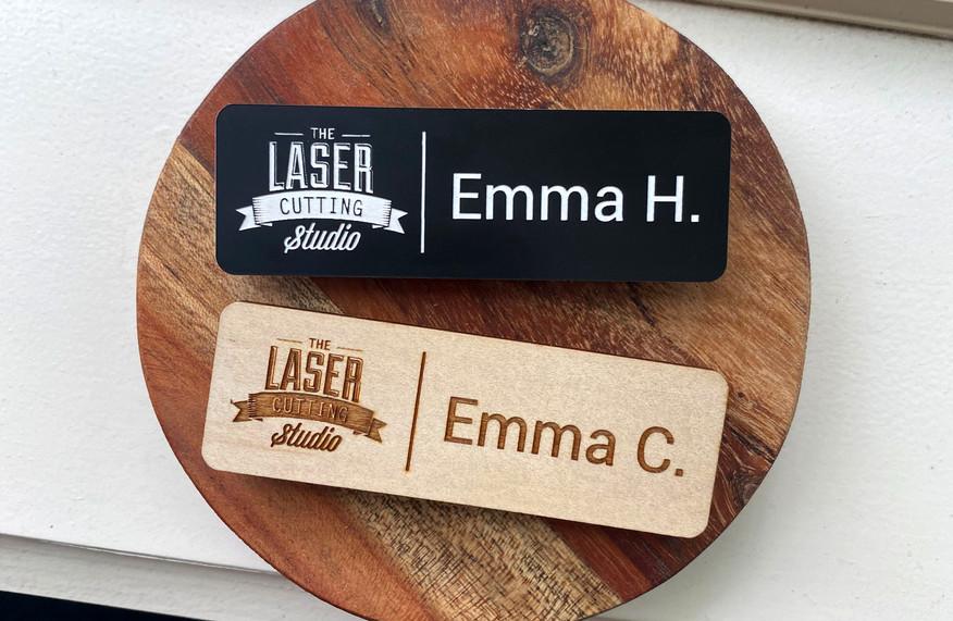 Engraved Name Badges