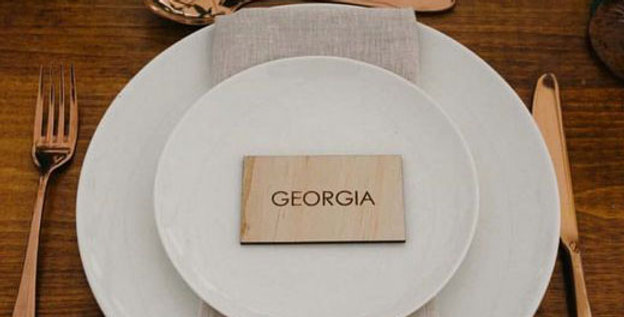 Wedding guest names, engraved, place names, timber - The Laser Cutting Studio Geelong, Australia