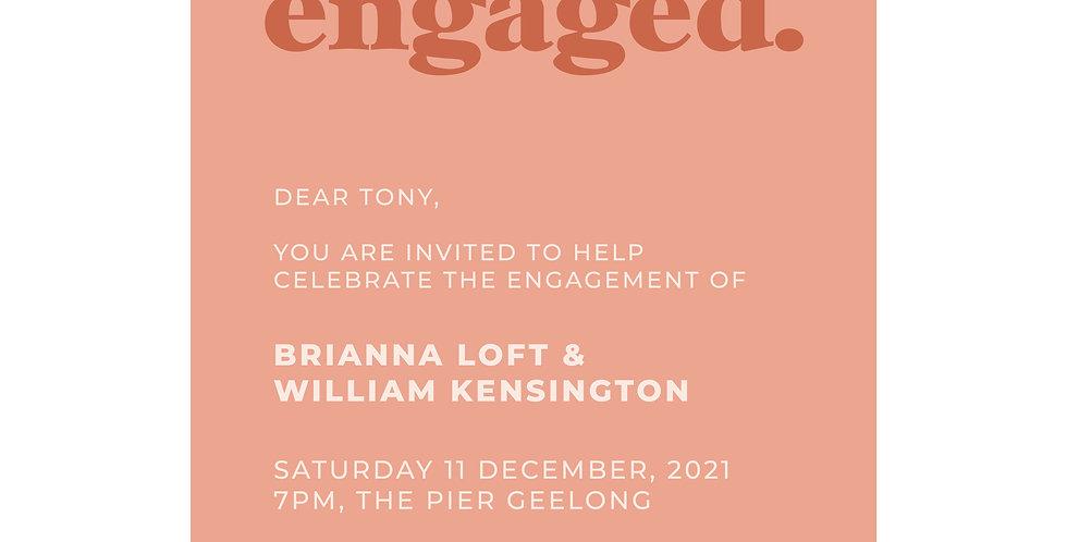 Wedding & Engagement Invitations - The Laser Cutting Studio Geelong, Australia